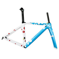 High quality carbon frame road bicycle lightweight carbon bike frame TT X1 frame