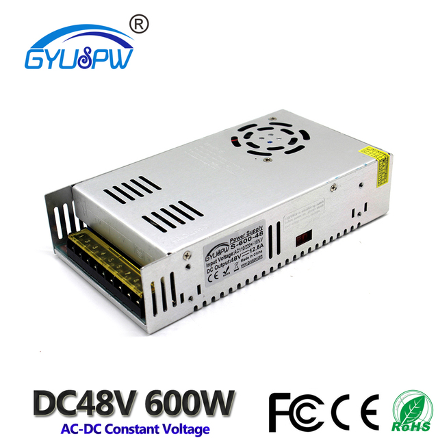 Single output Switching power supply DC48V 12.5A 600W Small Volume ...