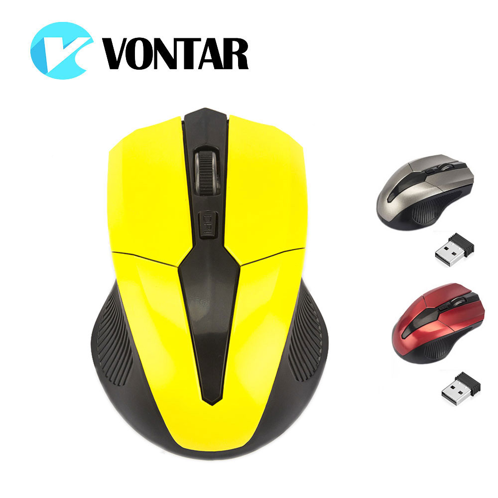 VONTAR latest Wireless Mouse 2.4G Mause USB Optical Computer Gamer Mice 4 Buttons Gaming Mouse For PC Laptop Desktop 1600 dpi 2 4ghz 1200dpi usb 2 0 wireless optical mouse for pc laptop notebook