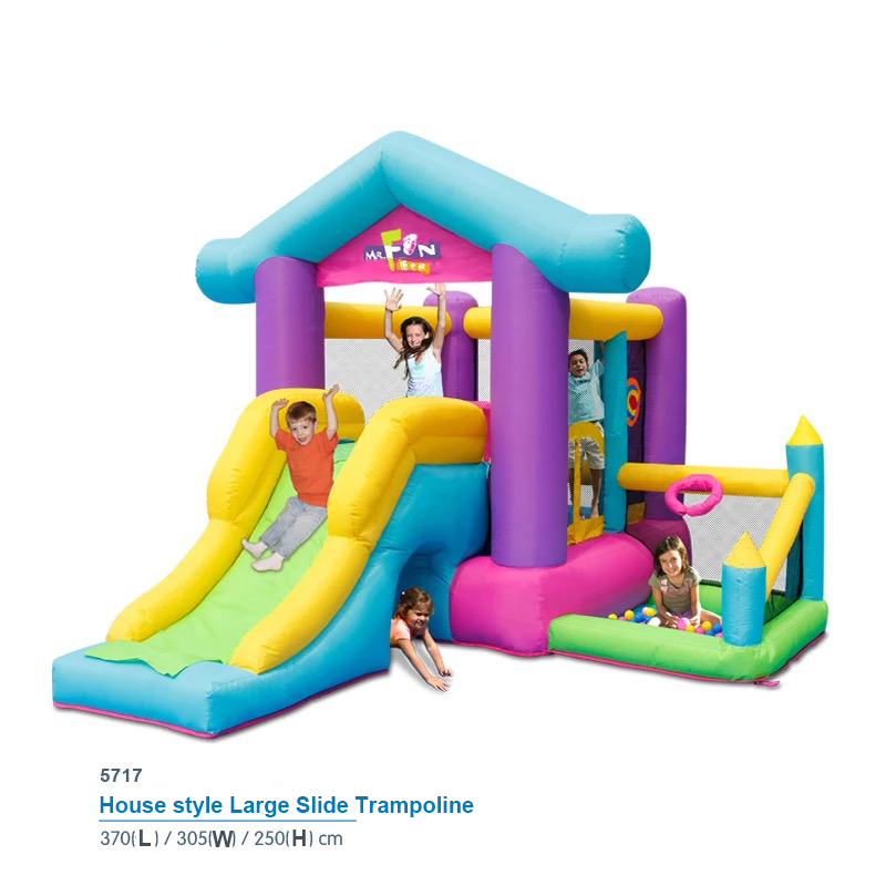 HTB1cTbCPpXXXXcuXpXXq6xXFXXXq - Mr. Fun Inflatable Bouncy House Big Slide For Kids With Ball Pool, Target, & Obstacle Course With Blower