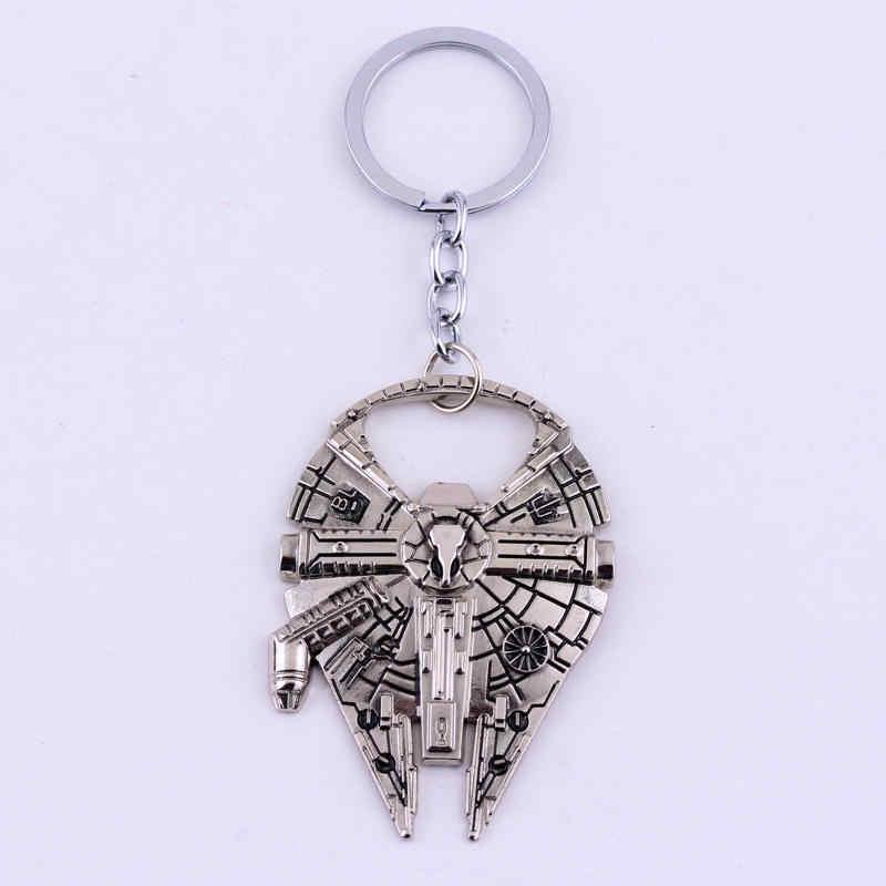 ตงเฉิงร้อนยูโรอเมริกันภาพยนตร์S Tar W Arsมิลเลนเนียมฟอลคอนพวงกุญแจโลหะพวงกุญแจพวงกุญแจสำหรับผู้ชายเครื่องประดับ-50