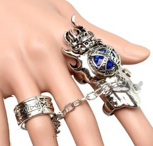 Модное Ювелирное кольцо Katekyo Hitman, кольцо новорожденного аниме vonгола, вращающиеся ювелирные кольца, аксессуары для косплея