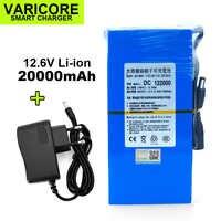 Batterie universelle rechargeable 12 V/11.1 V Li-ion VariCore, capacité 20000mAh 15000mAh 9800mAh 8000mAh 4800mAh 12.6 mAh, batterie V