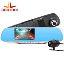 Dual Lens Car Camera Rearview Mirror Auto Dvrs Cars Dvr Recorder Video Full Hd1080p Night Vision Camcorder Dash Cam
