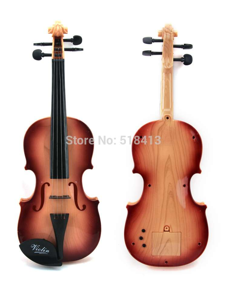 Guitar Plastic Delicate Violins Eight Ring Music Violin Educational Toys Kids Toy Children's Musical Instruments Fantasy musical instruments automatic music score book page flipping machine music sheet auto page turning tools