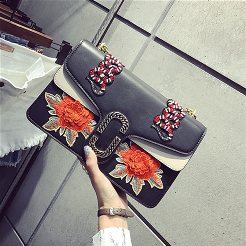 ФОТО 2017 Luxury Handbags Women Bags Designer Ladies Hand Bag Clutch Floral Embroidery Designer Women Party Bag Shopper Bag Sac Femme