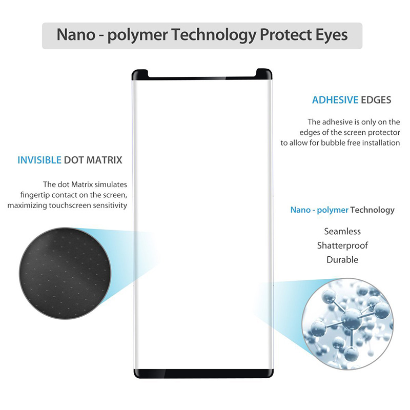 Suntaiho For Samsung Galaxy Note 8 Tempered Glass 3D 9H Screen Protector Protective Film  For Samsung Note 8