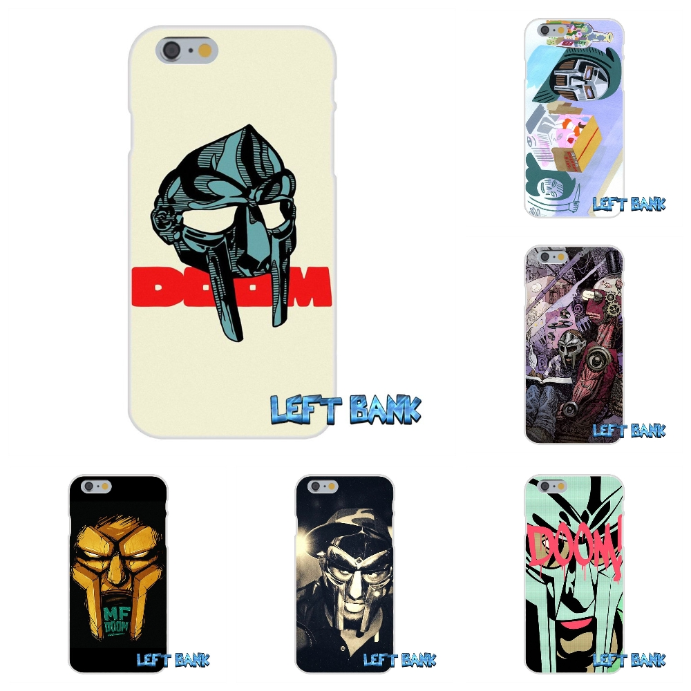 For iPhone 4 4S 5 5S 5C SE 6 6S 7 Plus mf doom ed Soft Silicone TPU Transparent Cover Case