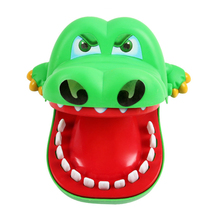 Funny Board game toys Crocodile Mouth Dentist Bite Finger Toy Large Crocodile Pulling Teeth Bar Games Toys Kids For Children