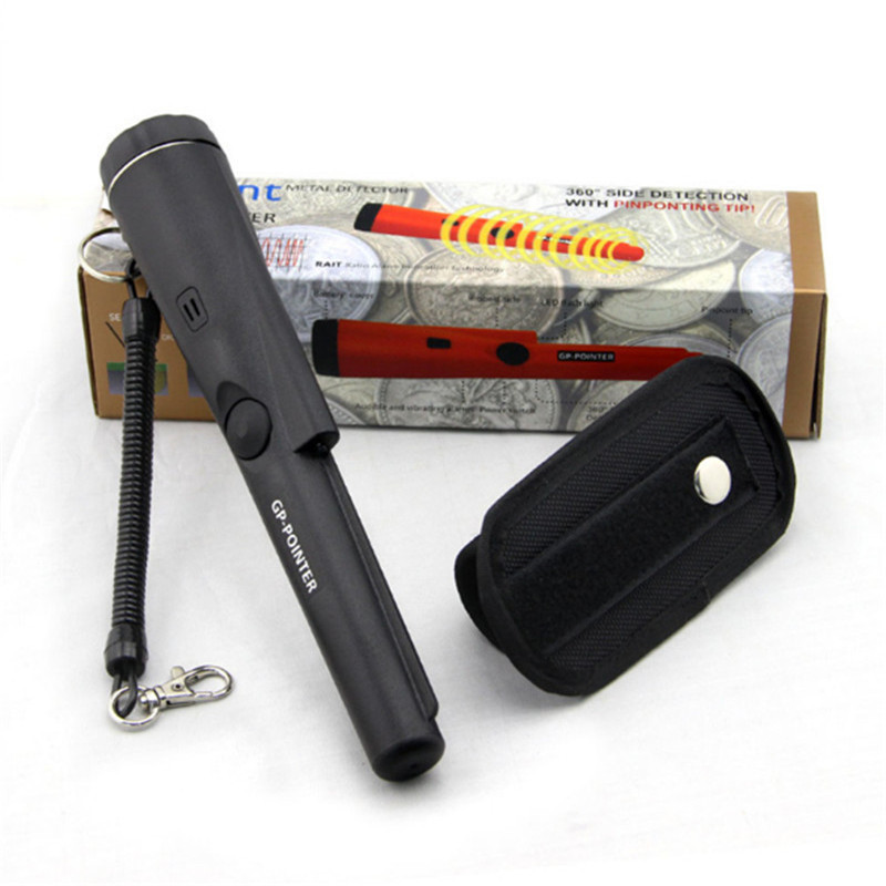 Free Shipping portable gp pointer propointer gold metal detector pinpointer цена