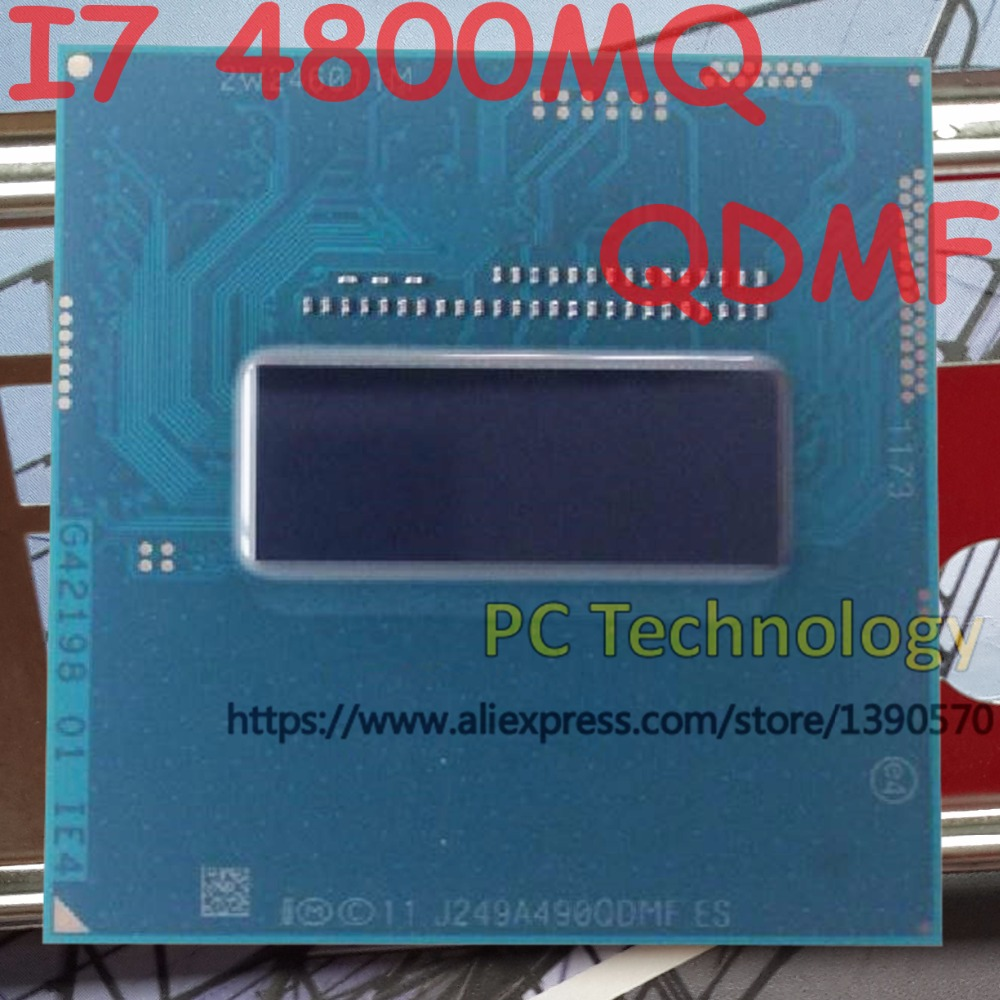 Original Intel Core I7 4800MQ QS QDMF CPU I7 4800MQ processor 2 7GHz 3 7GHz L3