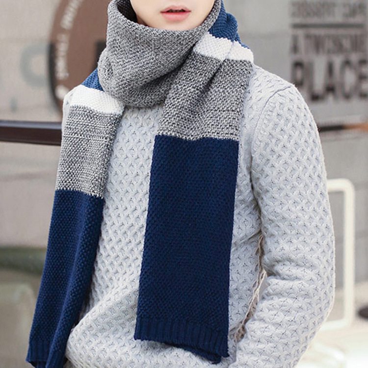 Popular Knit Mens Scarves-Buy Cheap Knit Mens Scarves lots from China Knit Me...