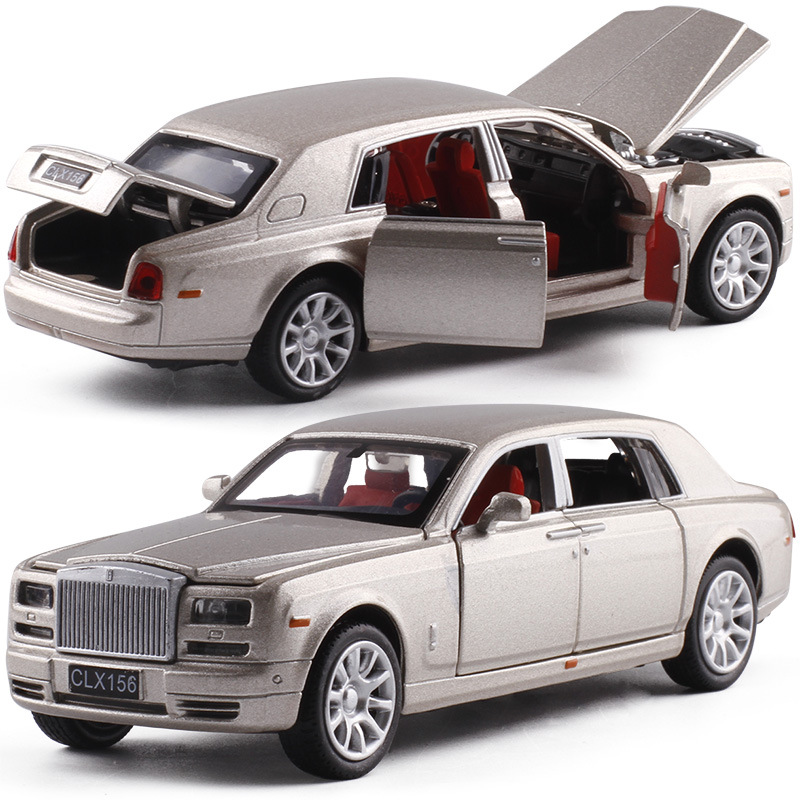 High simulation Luxury 6 door opener car,1:32 scale alloy pull back model car,muaical&flashing,diecast metal model,free shpping high simulation car 1 46 scale alloy pull back ford f150 pickup truck raptor soil version alloy car model toys free shipping