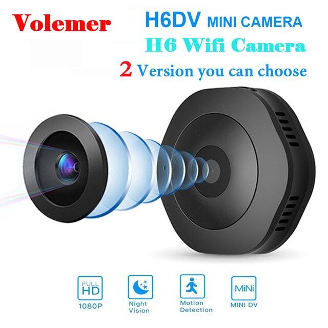 Volemer H6 DV/Wifi Micro Camera Night Version Mini Action Camera with motion Sensor Camcorder Voice Video Recorder Small Camer