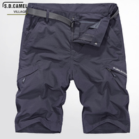 New Brand Waterproof Cargo Military Shorts Large Size M-5XL Thin Material For Summer Short Pants Short Masculino Loose Fashion