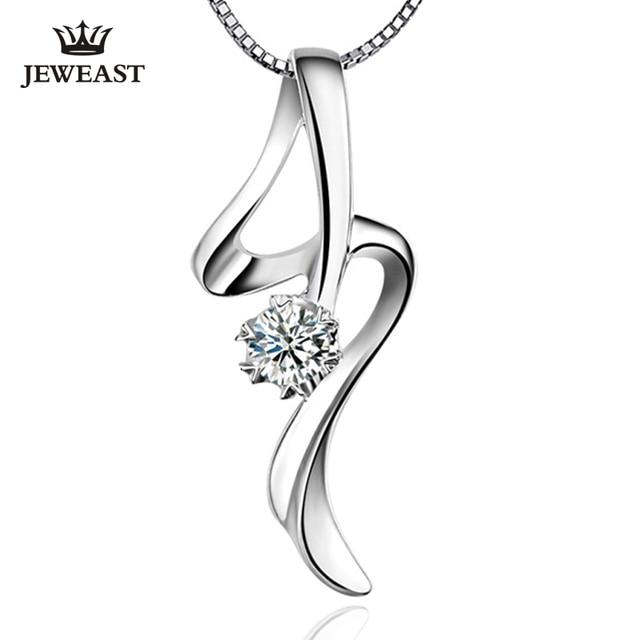 Pt950 platinum diamond necklace pendant white gold single diamond pt950 platinum diamond necklace pendant white gold single diamond pendant female genuine support customization aloadofball Choice Image