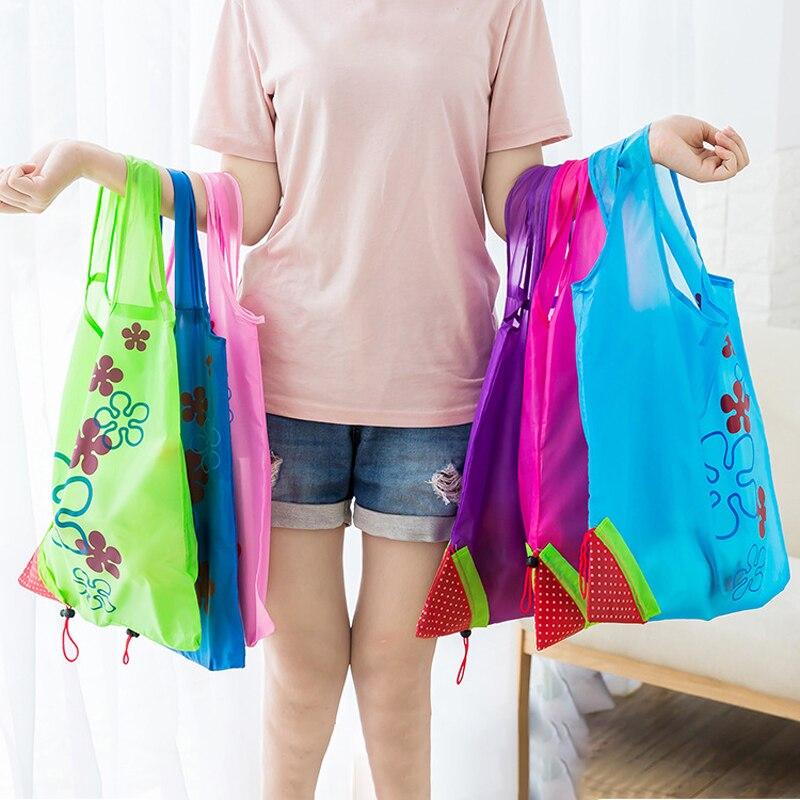 PCS, Shopping, Green, Pouch, Storage, LOT