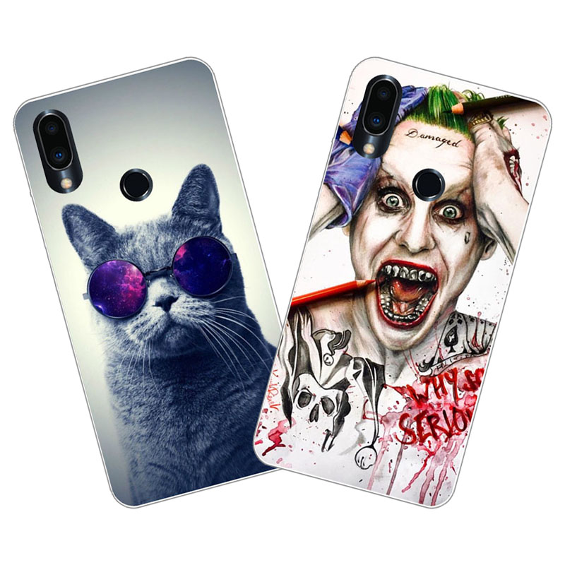 Meizu note 9 Case,Silicon Super cool cartoon Painting Soft TPU Back Cover for Meizu note9 Phone protect cases shell