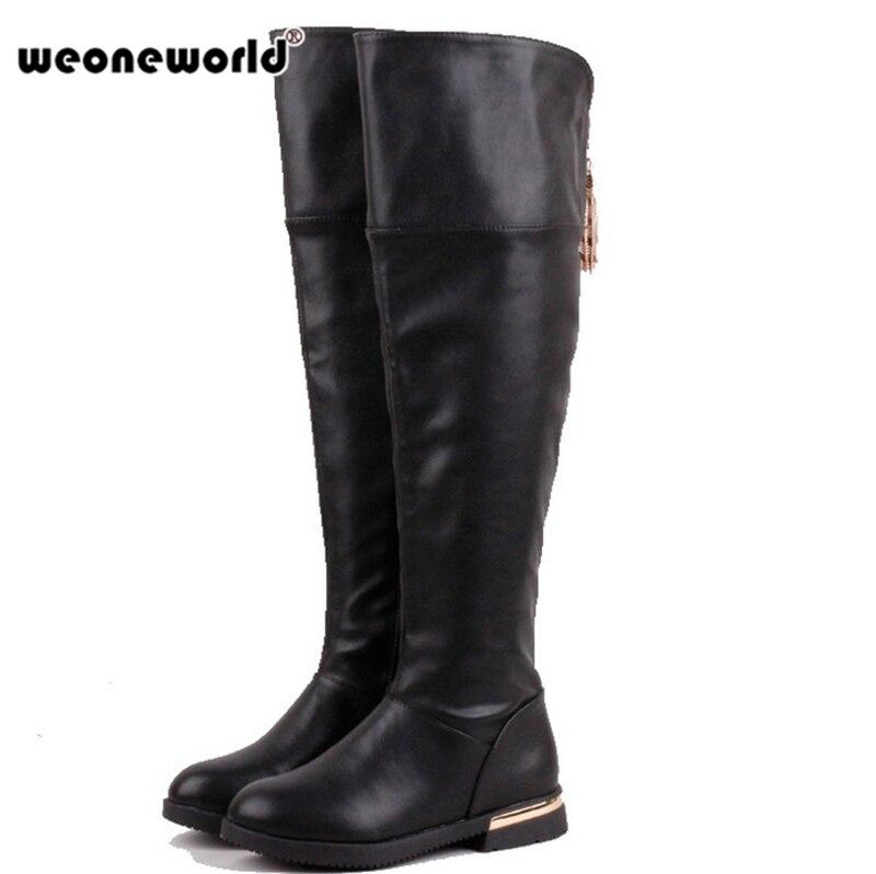 Aliexpress.com : Buy WEONEWORLD Hot Sale Girls Fashion Boots ...