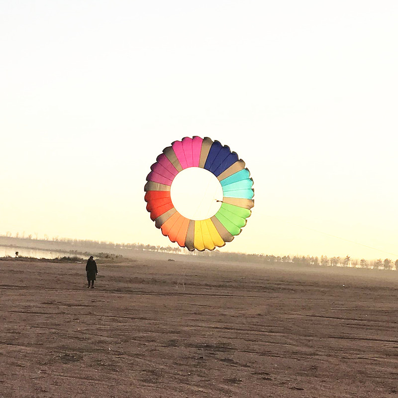 Livraison gratuite de haute qualité 5m anneau cerf-volant filature couronne jouets de plein air grand cerf-volant weifang kaixuan cerf-volant usine en gros chaussettes - 2