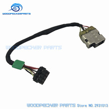 Laptop computer New DC Energy Jack With Cable For HP TouchSmart 11-E 215 G1 11-E0115dx P/n: 717370-TD6 717370-SD6 717370-FD6 717370-YD6