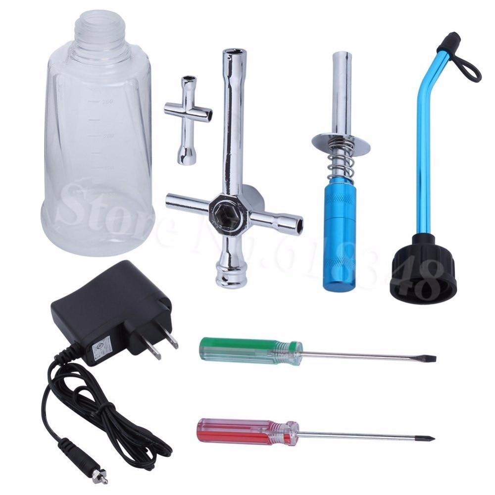 Nitro Gas RC Car Starter Kit Glow Plug Зажигатель и - Радиоуправляемые игрушки