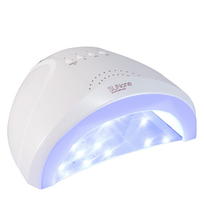 SUNone Professional UV LED Lamp 24W/48W Phototherapy Nail Dryer Polish 365 405mm LED Light UV Lamp Nail Dryer STOCK IN RUSSIA new professional dc 12v 2a 24w uv led nail lamp nail dryer unique design intelligent induction three setting buttons an adapter