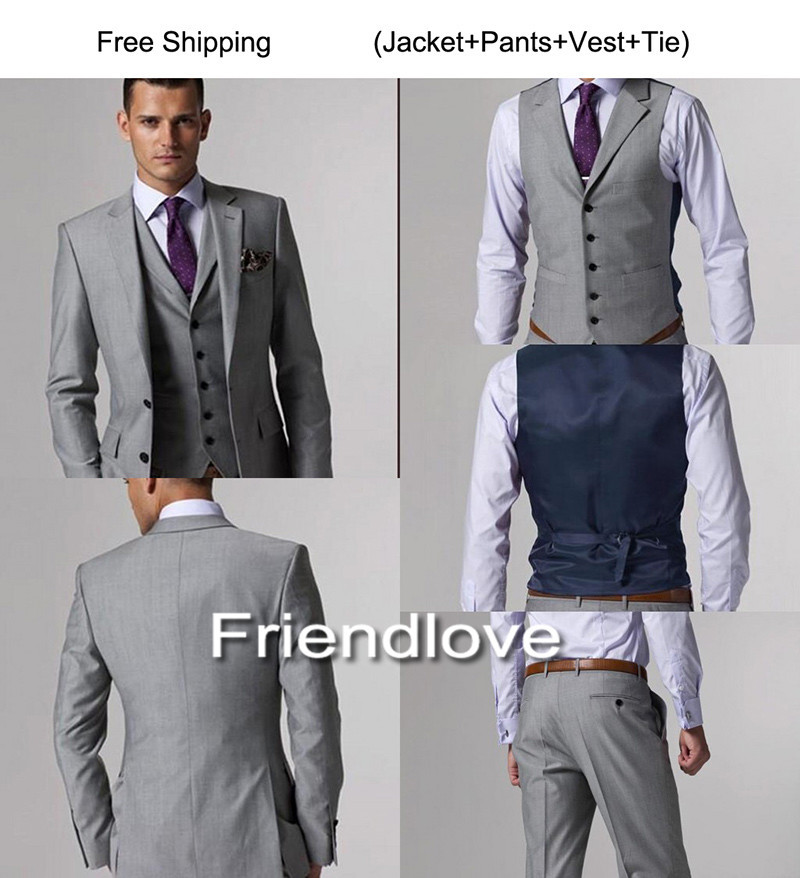 Beautifullight Handsome Mens Fashion Slim Fit Casual One Button Blazer Jacket