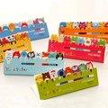 Nueva Historieta Encantadora Animal Bookmark Sticky Note Pad Memo Label Post It 120 Páginas envío libre