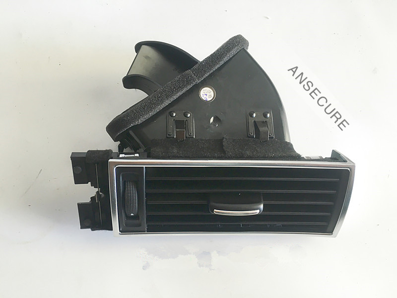 LHD Black Front Right Passenger Air Outlet vents Air Vent Assembly Trim nozzle For <font><b>audi</b></font> <font><b>A6</b></font> C6 Avant Allroad Quattro image