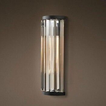 Fabrik Outlet Kunst Decor Luxury Vintage K9 Kristall Kronleuchter Wand Leuchte Lampe Licht Beleuchtung für Home Hotel Bed Room Decor