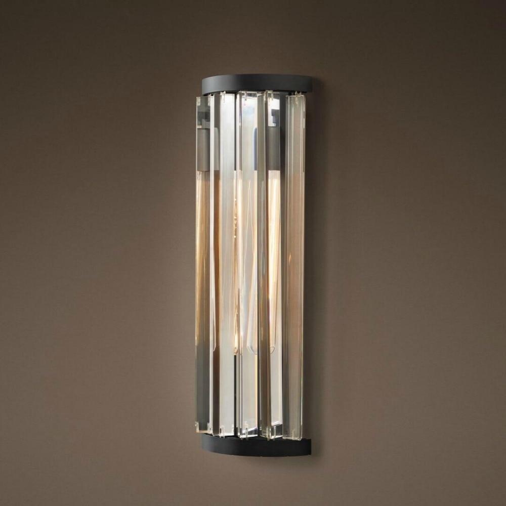 все цены на Factory Outlet Art Decor Luxury Vintage K9 Crystal Chandelier Wall Sconce Lamp Light Lighting for Home Hotel Bed Room Decor