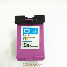 Vilaxh compatible For HP 123 Color Ink Cartridge Replacement For HP 123 xl 123xl Deskjet 2132 3630 3632 3638 1110 2130 Printer цена