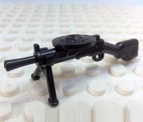 آلة خفيفة بندقية الأسلحة العسكرية النموذج الأصلي بناء لعب صغيرة Swat مدينة الشرطة العسكرية الشكل اكسسوارات Playmobil