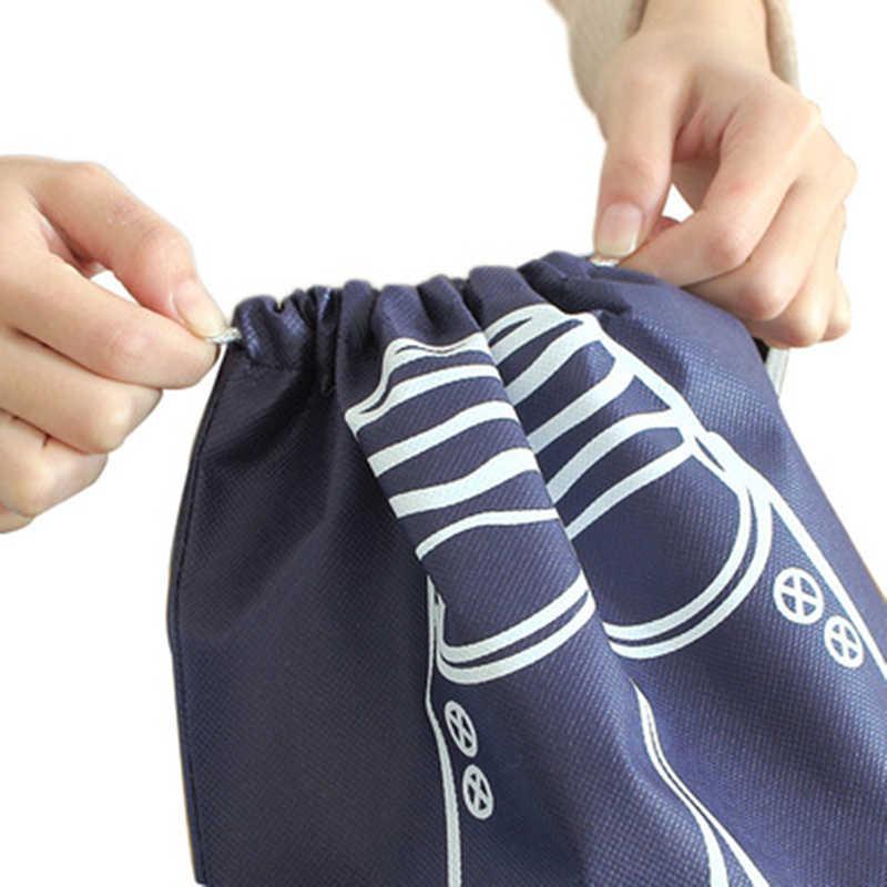 2 サイズ防水スポーツジムトレーニング水泳靴バッグ男性女性フィットネス体操バスケットボールサッカーシューズバッグ
