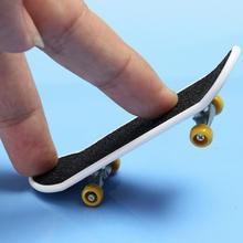 2 шт дети печать Профессиональный сплав Стенд гриф грузовик игрушка мини палец скейтборд для детей игрушка мальчик детский подарок