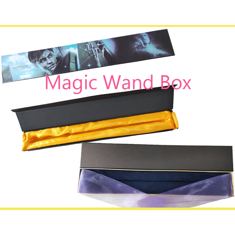 Colsplay Series Magic Wand Box Bracket Colsplay Metal Iron Core Dumbledore Hermione Scripture Trick Mystery Box Surprise Kids