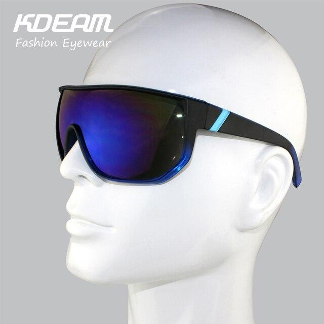 Kdeam gafas 2017 hombres ejercicio gafas tamaño grande Marcos marca  diseñador mujeres Gafas de sol Bisagras 0cf11561611b