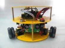 3WD 48mm Omni Wheels Mobile Arduino font b Robot b font font b Kit b font