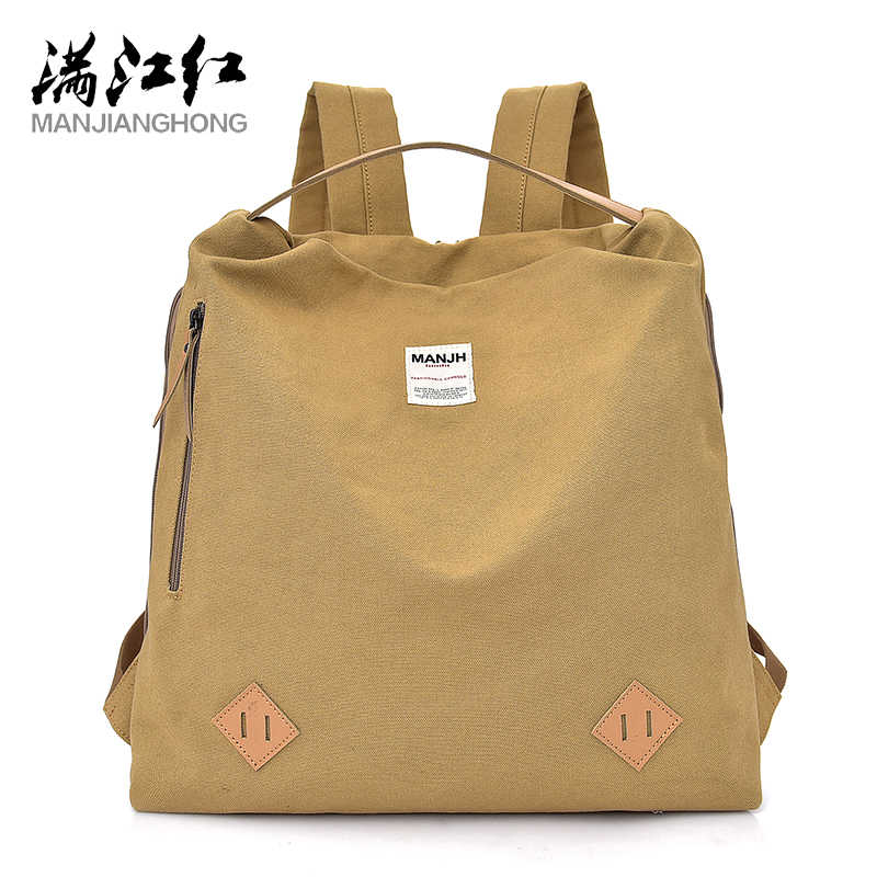 Quality Women Bag Cotton Canvas Fashion Small Backpack Bag Fashion Beauty  Girls Books Bag Multifunctional School ab098cdde6d91