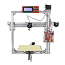 Industrie Massive Anet2 3D Printer LCD2004 Hotbed Plus + Auto-leveling Model Prusa i3 Straightforward Assemble Desktop 3D Printer Machine