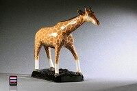 Ciervo jirafa cerámica alcancía animales artesanías caseras de la decoración habitación de los niños decoración objetos de adorno de porcelana muñecas figuras de animales
