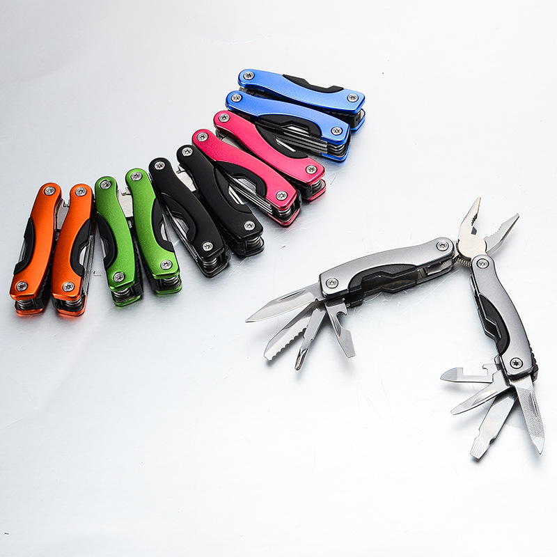 9 In 1 Portable Multitool Plier Knife High Quality Stainless Steel Outdoor Survival Bottle Opener Wrench Plier Files Tools in Pliers from Tools