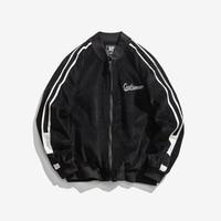High Quality luxury Printed Corduroy Coats America Baseball Uniform For Men Spring Autumn Clothes Bomber Jacket Streetwear