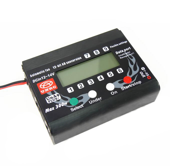 Free Shipping UNA9 PLUS High Precision Lipo battery Balance Charger A9 Charger Discharger 1pcs free shipping lipo battery 3 7v 200mah 20c helicopter x4 x11 x13 high endurance high precision low voltage protection board