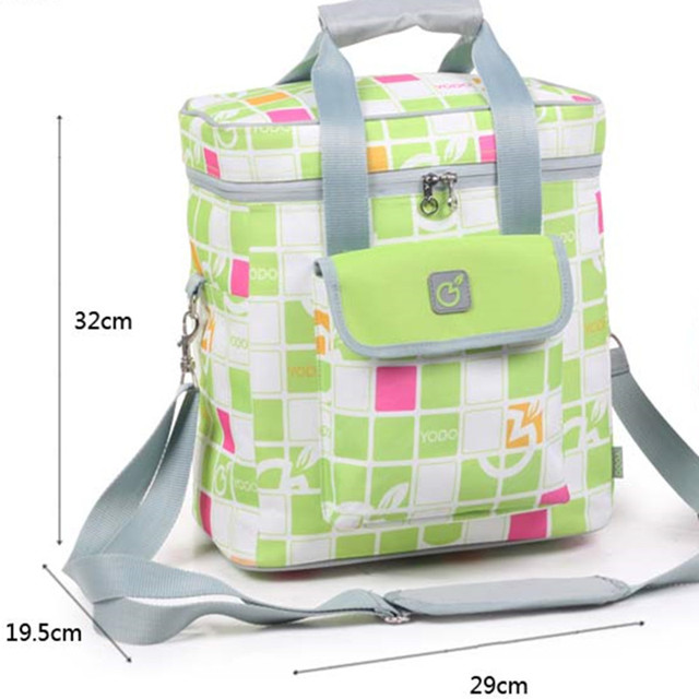 suitcase high-end large-thick Dieta insulation bags w / car refrigerator ice bags storage Cooler  bolsas/ Family Picnic bag