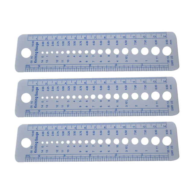 Plastic Yarn Ruler