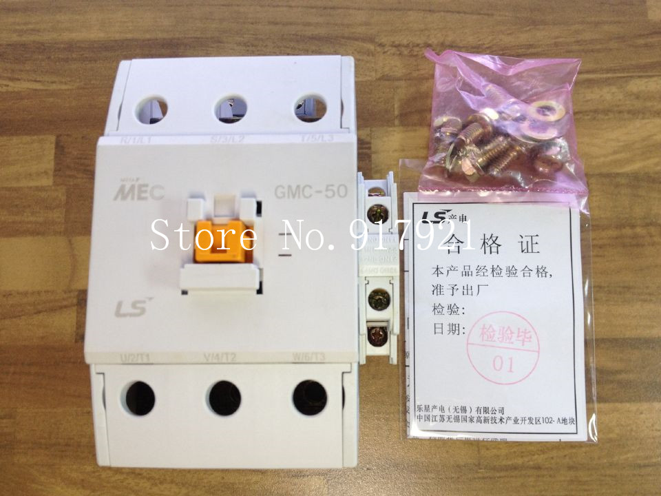 [ZOB] South Koreas original MEC GMC-50 power 220V AC contactor to ensure genuine fake a lose ten --2pcs/lot