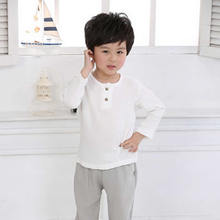 Summer Baby Boys T shirts Cotton Babies Tops Casual Baby Linen Tees Print o neck Boys t  Shirts Children shirt Clothing-in T-Shirts