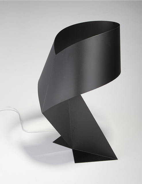 Creative Origami Table Lamp black